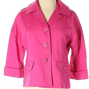 Rafaelle Pink Women's Small Blazer Suit Jacket